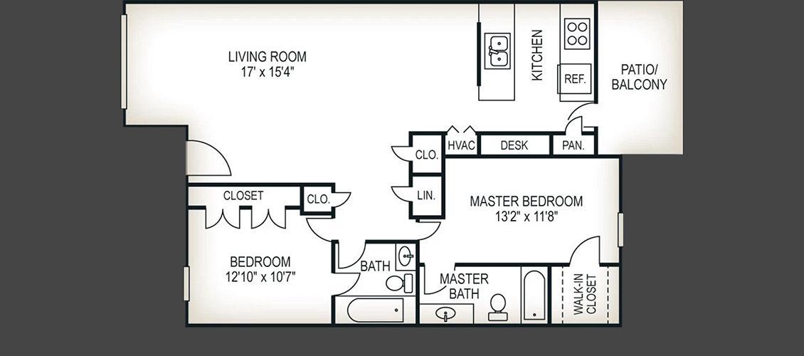 2 bedroom 2 bath 1100 sq ft magnolia